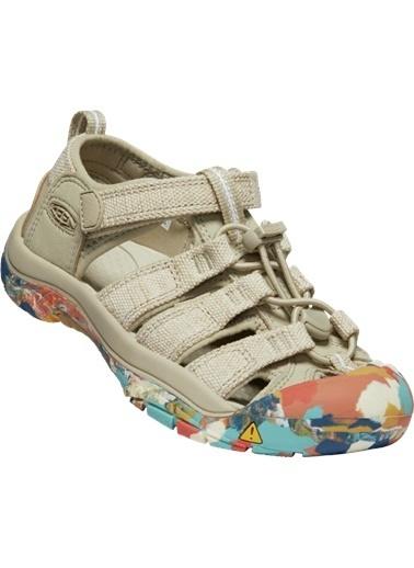 Keen Keen Newport H2 Çocuk Sandalet Bej Krem